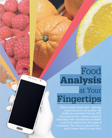 Food analysis at your fingertips img.